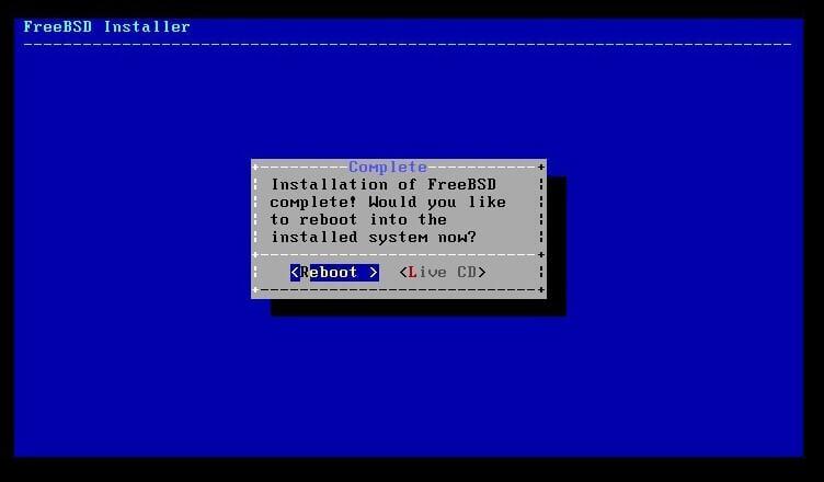 FeerBSD-Kurulumu